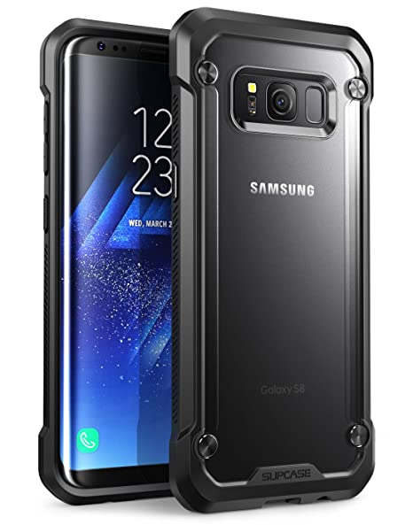 SupCase Samsung Galaxy S8+ Plus Case, Unicorn Beetle Series Premium Hybrid Protective Frost Clear Case for Samsung Galaxy S8+ Plus 2017 Release, ...