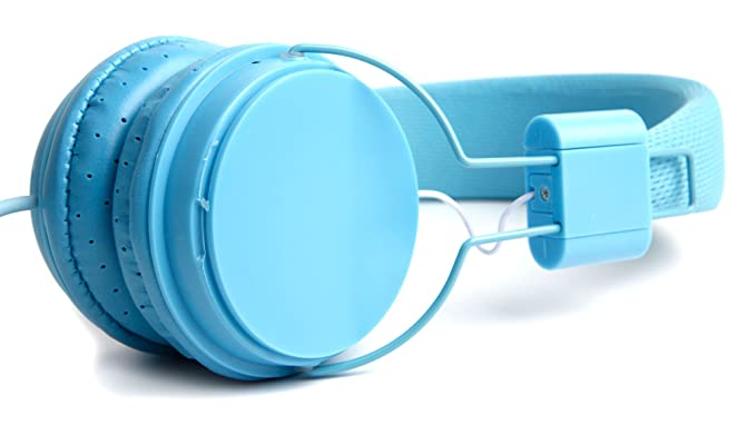 Amazon.com: Blue Kids Ultra-Stylish Headphones Compatible with the Lunii 1-EN My Fabulous Storyteller Toy - by DURAGADGET: Electronics