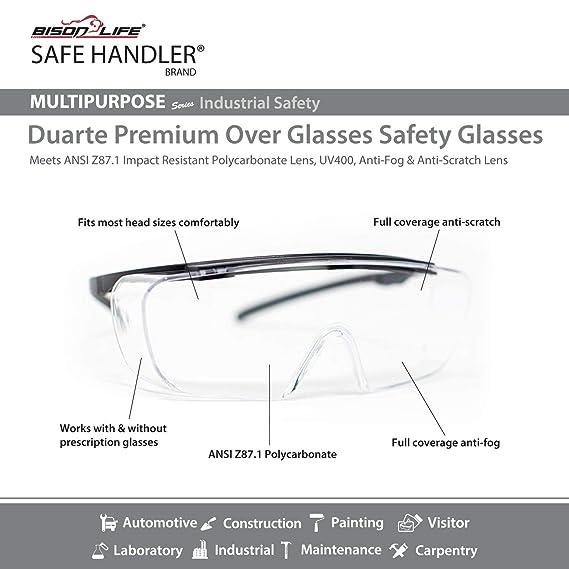 72fb80f546 SAFE HANDLER Duarte Premium Over Glasses 3 PAIRS