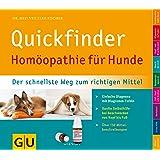 Quickfinder Homöopathie für Hunde: Der schnellste Weg zum richtigen Mittel. Einfache Diagnose mit Diagramm-Tafeln. (GU Altproduktion HHG)
