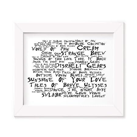 Different Class Pulp Poster Print Lyrics Gift Signed Art