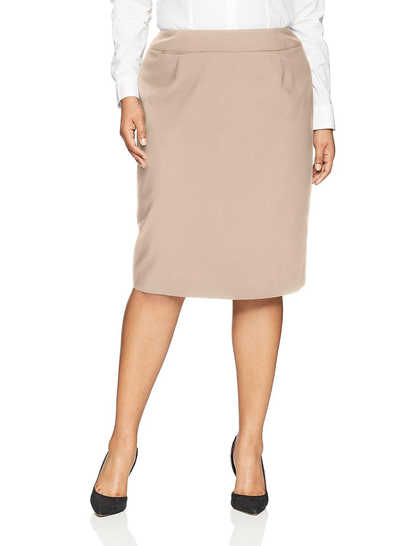Calvin Klein SKIRT レディース B07775NMD6 22W|カーキ カーキ 22W