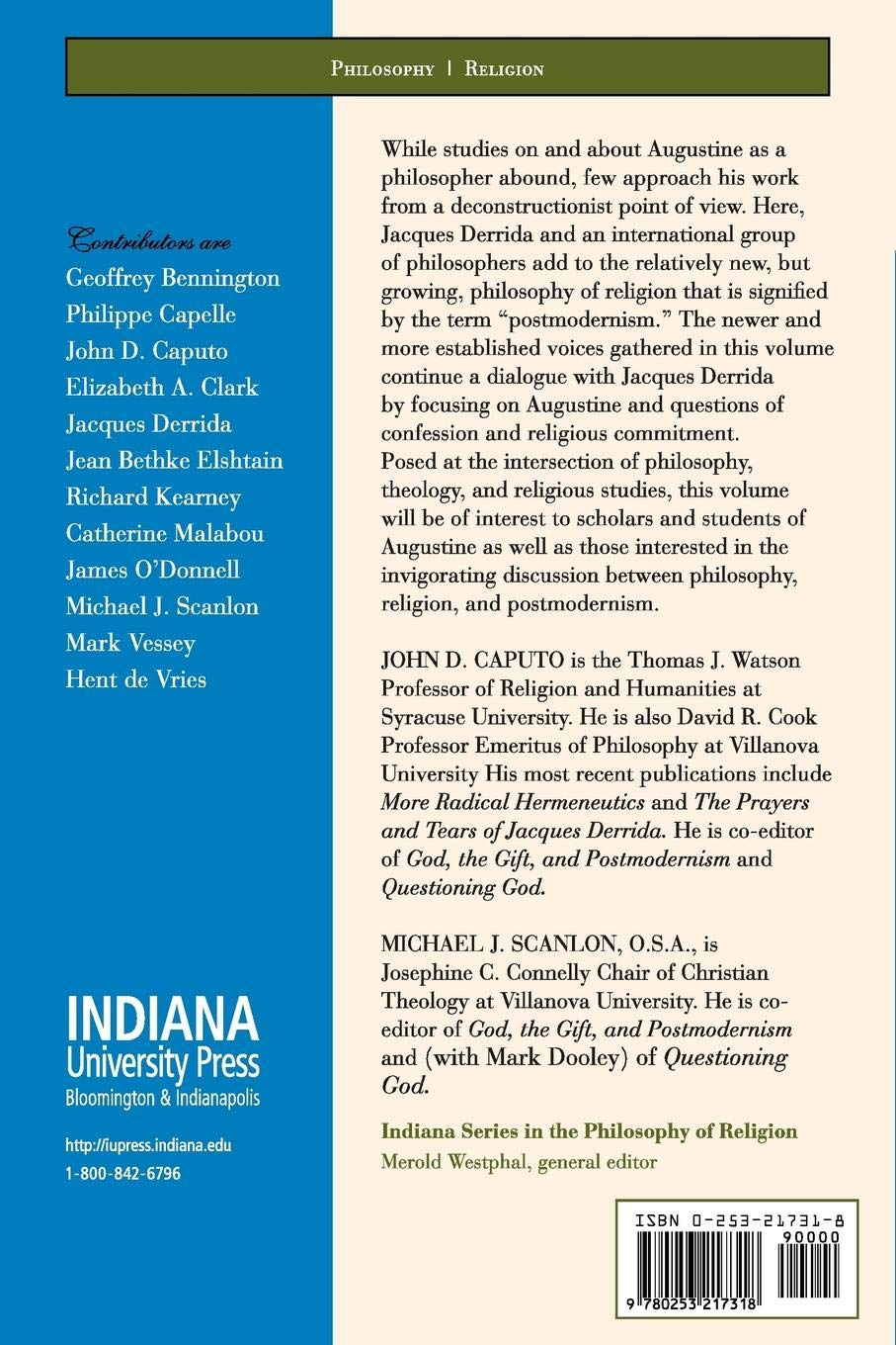 Questioning God (Indiana Series in the Philosophy of Religion)