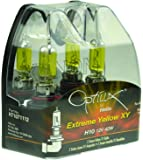 Optilux H71071112 by HELLA XY Series H10 Xenon Yellow Halogen Bulb Set, 12V, 42W