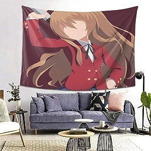 Toradora-Aisaka Taiga Wall Tapestry Apestry Album 3D Wall Hanging Art Home Decor Wave Tapestries
