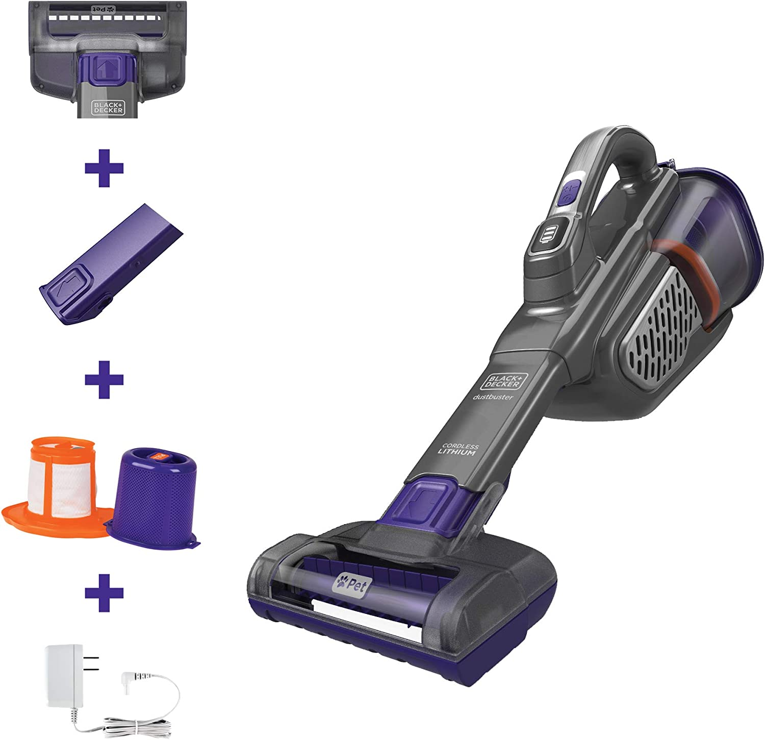 Black+Decker HHVK415B01 aspiradora de mano Dustbuster: Amazon.es ...
