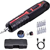 Ikuby Rechargeable 4V Cordless Screwdriver usb screwdriver Large Torque Electric Power Screwdriver With Non-Contact…