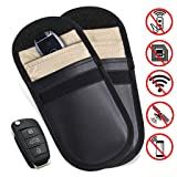 Autone Car Key Bag Car Fob Signal Blocker Faraday