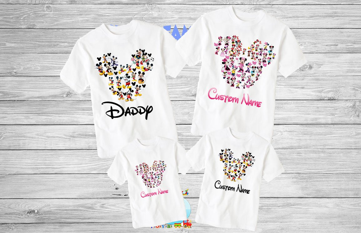 1d24883d Disney Family Shirts Disney Shirts,Disney Family Shirts, Mickey, Minnie, Custom T-shirt,Personalized Disney Shirts ...