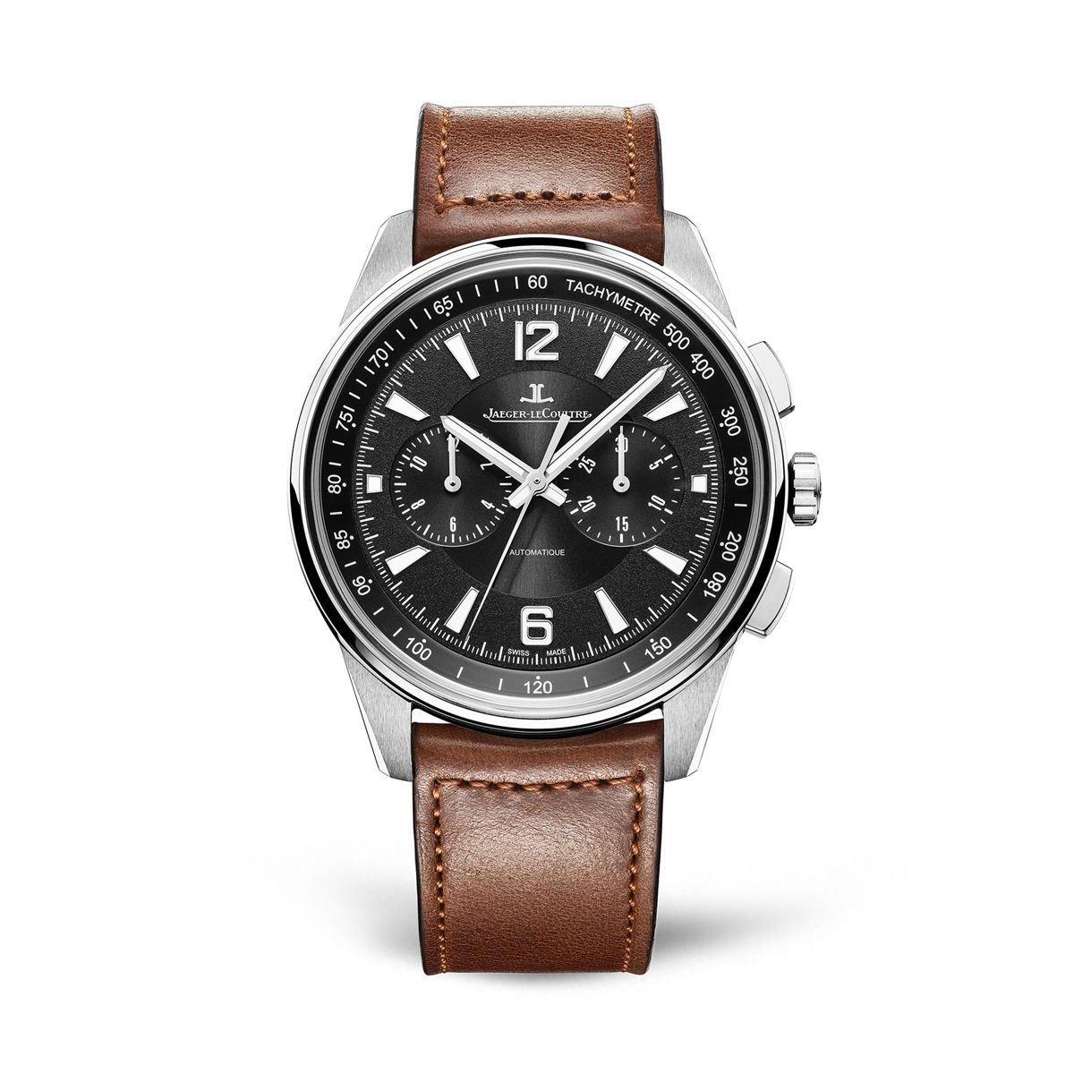 Jaeger-LeCoultre Polaris Q9028471 - Reloj automático de acero inoxidable para hombre, esfera negra: Amazon.es: Relojes