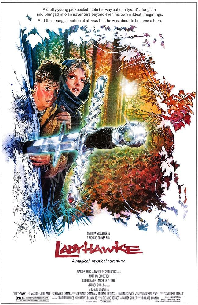 "MCPosters Ladyhawke GLOSSY FINISH Movie Poster - MCP406 (16"" x 24"" (41cm x 61cm))"
