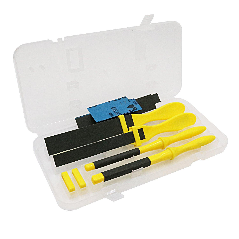 NIUPIKA Polishing Sandpaper Kit Sanding Tool with Sand Paper Plastic Stick NIUPIKA Online NP-71