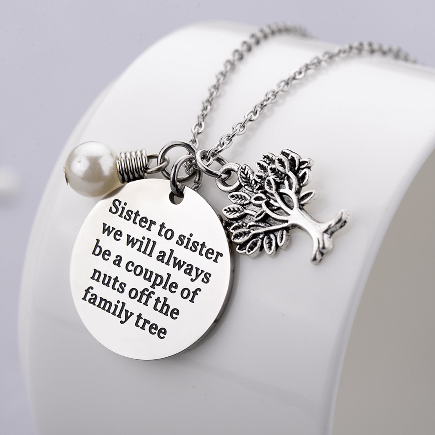 designs sterling necklace pendant necklaces image silver tree products custom collections contagious birthstone family