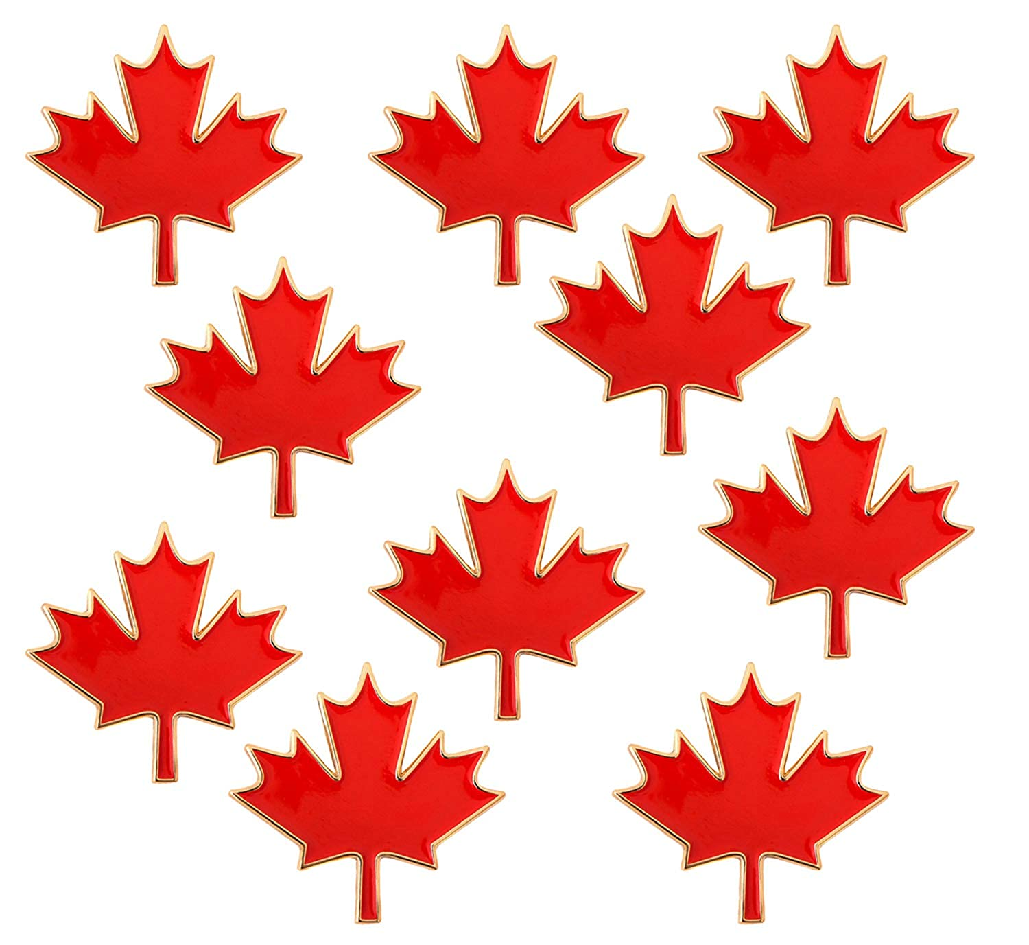 rhungift Proudly Canada Flag Pin Maple Leaf Jewelry Quality Lapel Pins