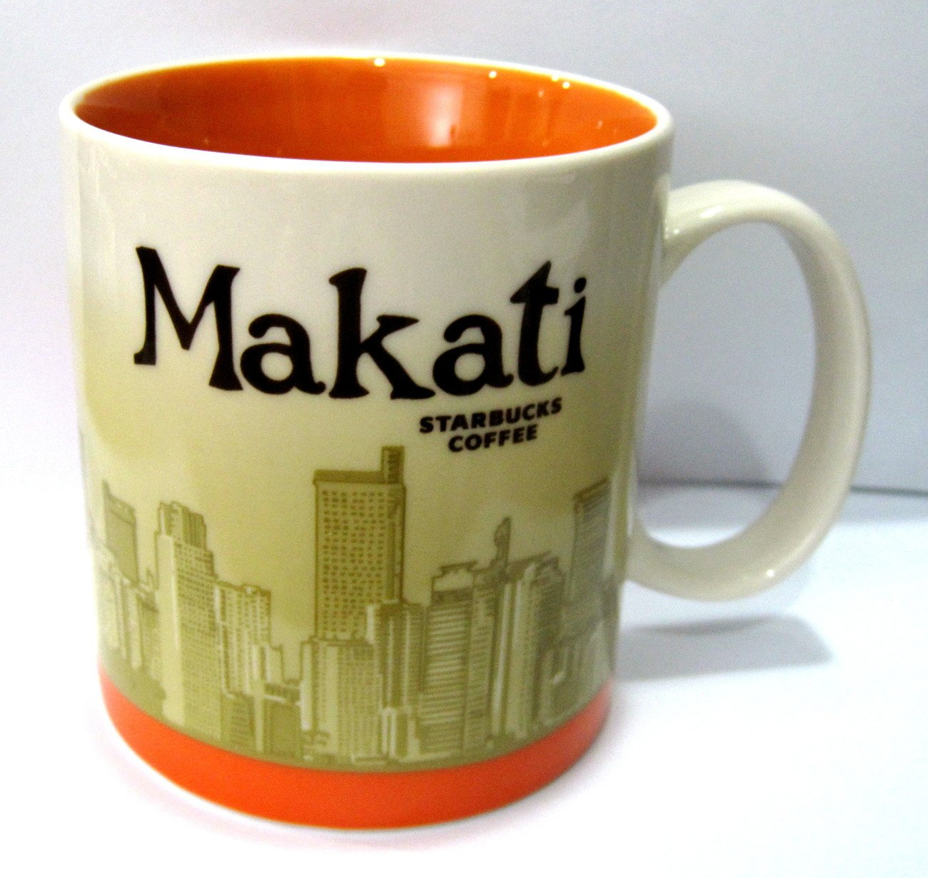 Starbucks Makati Philippines Global Icon Collection Mug 16 Oz