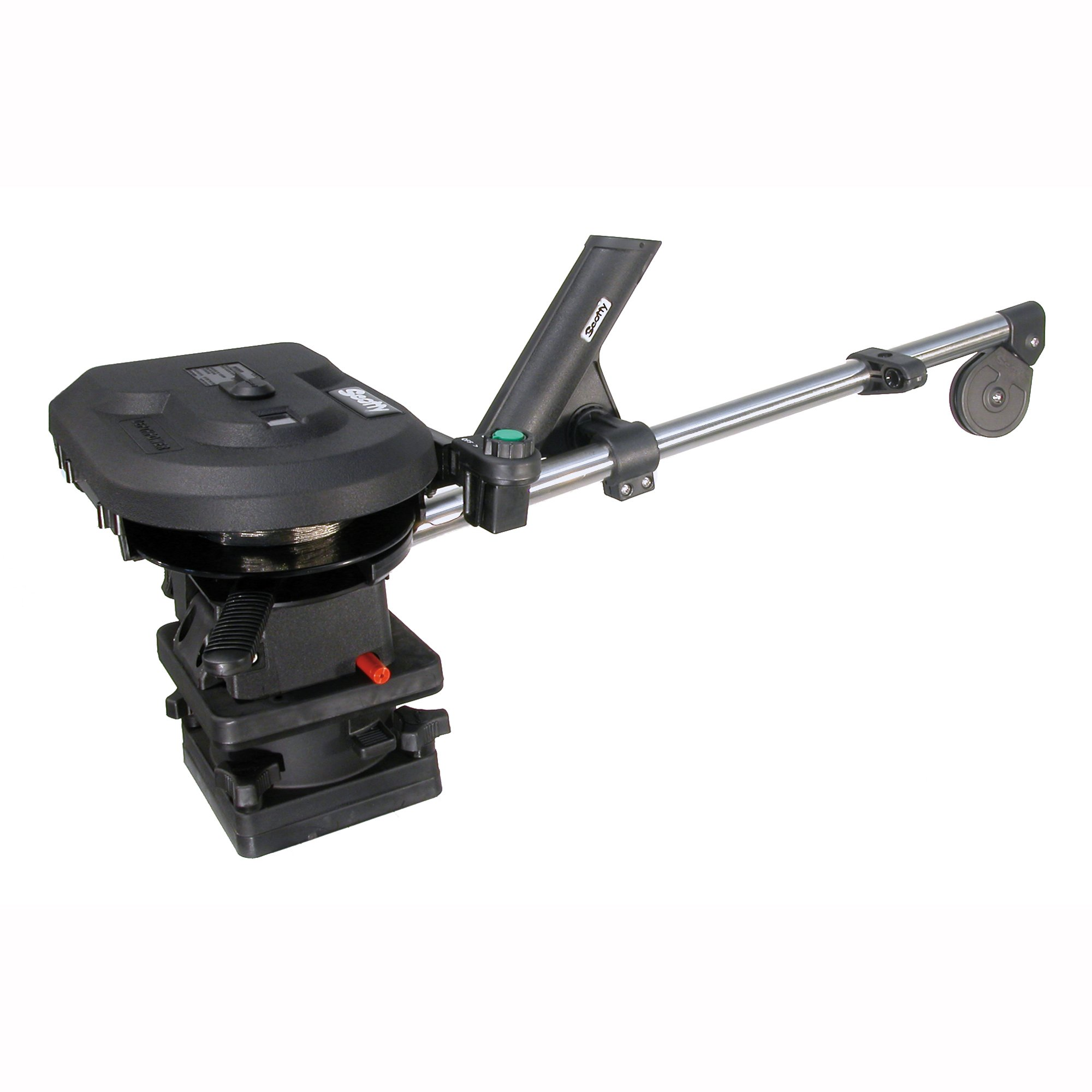 Scotty #1101 Depthpower Electric Downrigger w/ 30-Inch Solid Boom & Swivel Base, Rod Holder by Scotty