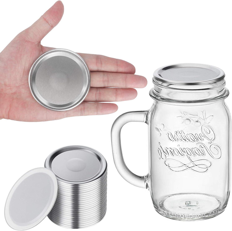 Mason jar lids regular mouth,Canning lids regular mouth.Canning flats regular mouth,Lids for Mason Jar Canning Lids 24 regular lids