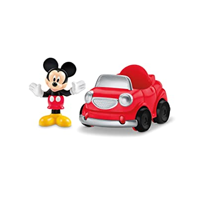 Fisher-Price Disney Mickey Mouse Clubhouse, Mickey's Sports Car: Toys & Games