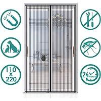 Auxmir Cortina Mosquitera Magnetica para Puertas, 110x220cm,