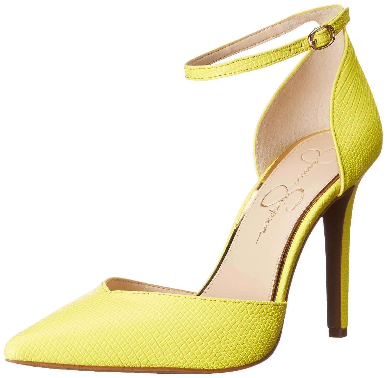 Jessica Simpson Women's Cirrus Dress-Pump B018F2PYO6 10 B(M) US|Sour Lemon