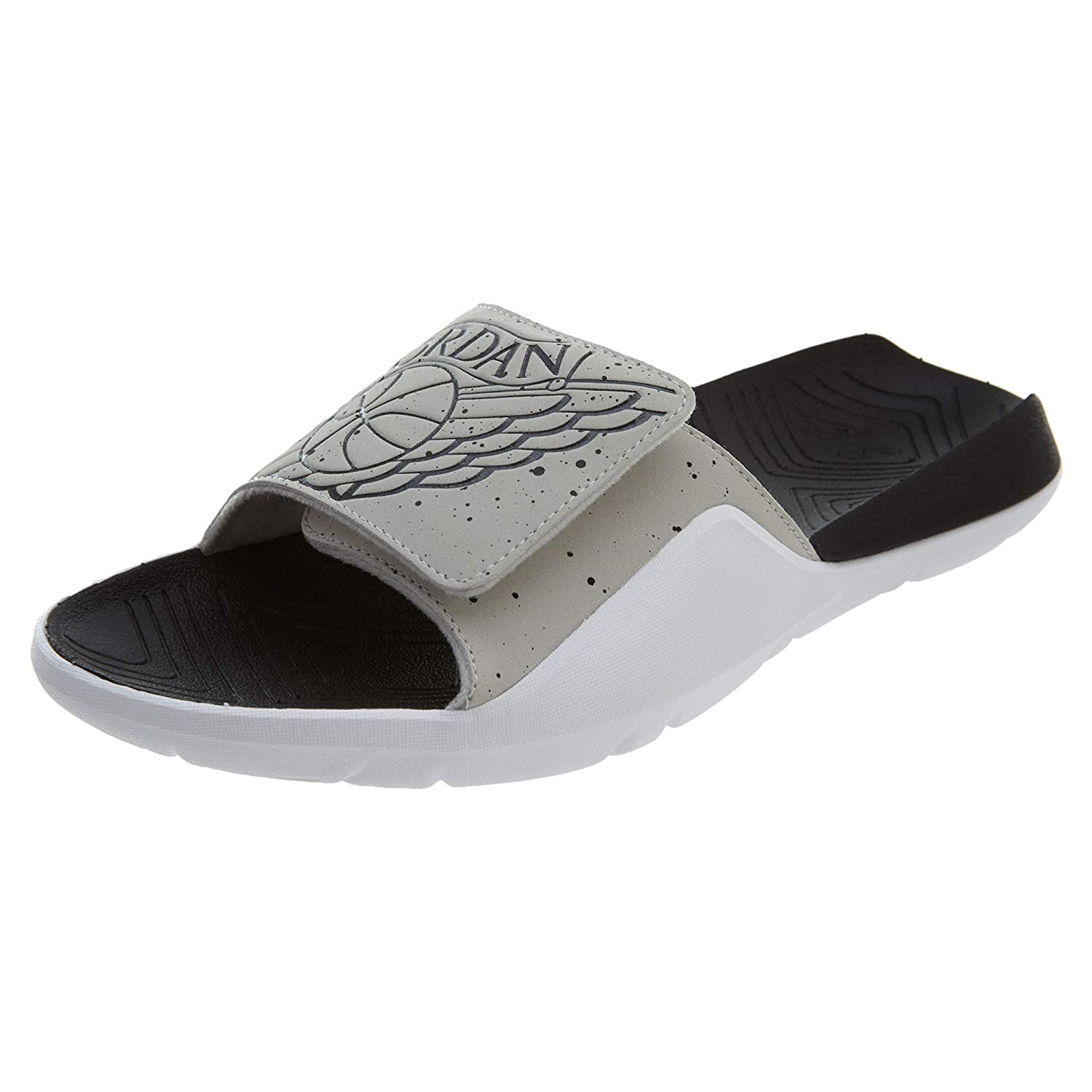 0bbb87f87ec Amazon.com | Jordan Hydro 7 Slides 'Tech Grey' Style: AA2517-004 Size: 14 |  Sandals