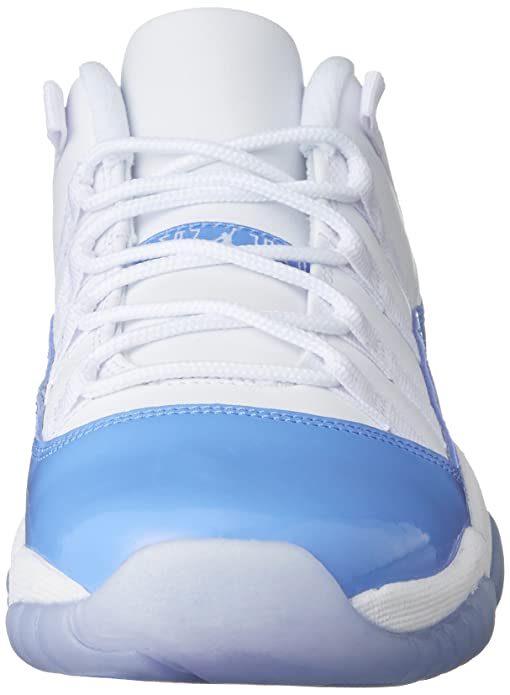 best service 84093 d989f Amazon.com   Air Jordan 11 Retro Low BG Boys Shoes White University Blue  528896-106   Basketball