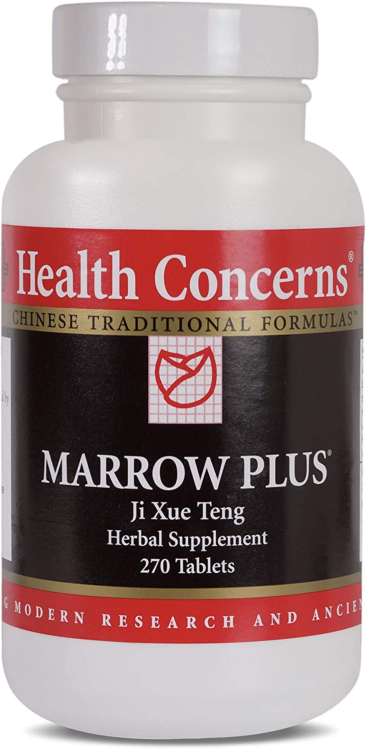 Health Concerns – Marrow Plus – Spatholobus Chinese Herbal Supplement – Blood Support – with Spatholobus Stem – 270 Tablets per Bottle