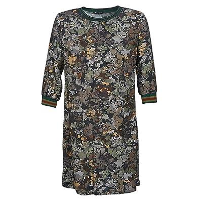 7fcfb3a75d64bb Sisley FAZED Kleider Damen Multifarben Kurze Kleider  Amazon.de  Schuhe    Handtaschen