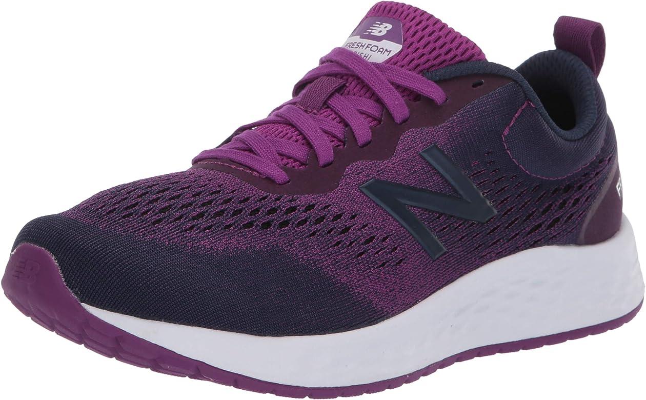 New Balance Arishi V3 - Zapatillas para Correr de Espuma Fresca para Mujer, Morado (Ciruela/Índigo Natural/Blanco), 35 EU: Amazon.es: Zapatos y complementos