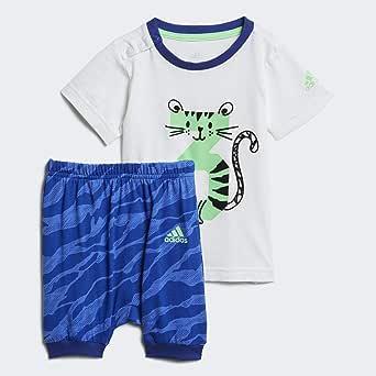 اديداس مجموعة ملابس للاطفال - اولاد