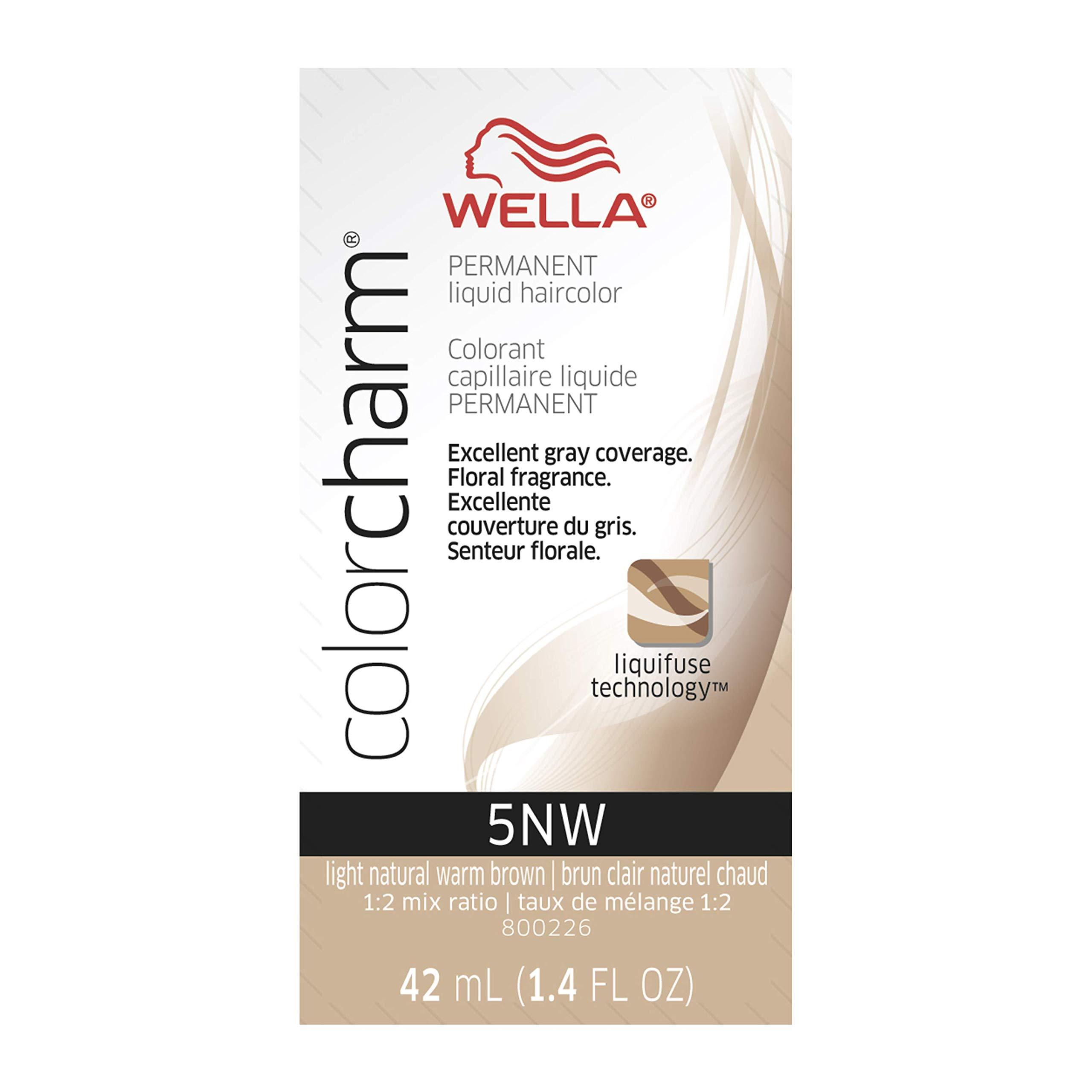 WELLA Color Charm Permanent Liquid Hair Color Brown