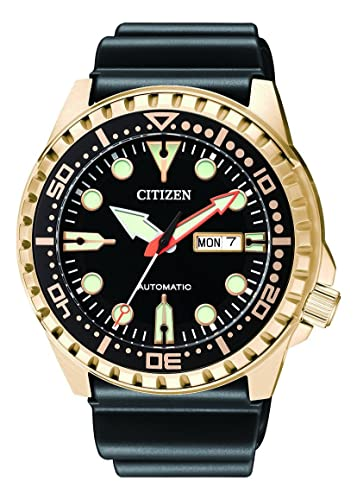 Citizen Hombre Analog Reloj Automático con Caucho Pulsera nh8383 - 17ee: Amazon.es: Relojes