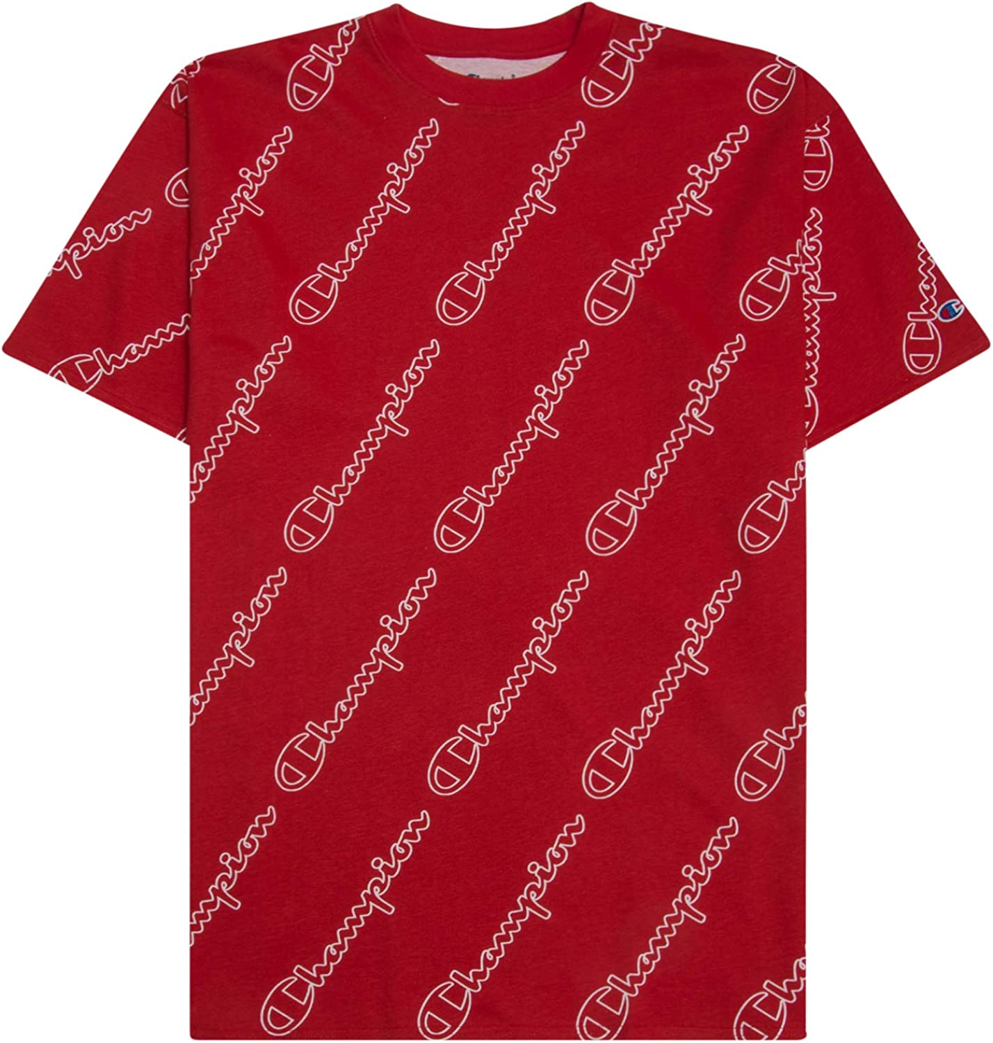 Big /& Tall Graphic Tee Mens Big and Tall Champion All Over Print Shirt For Men