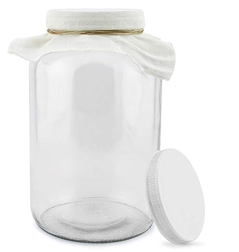 Amazon.com: 1 Galón Kombucha Jar, kombucha Jar de vidrio con ...