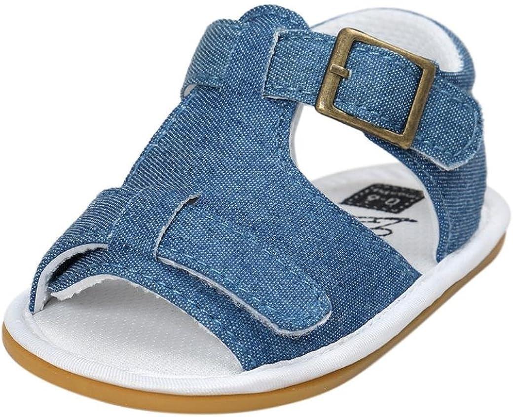 Transer pour 0-18 Mois B/éb/é Mode b/éb/é gar/çon Sandales Anti-d/érapant Doux Unique Toddler Sneaker