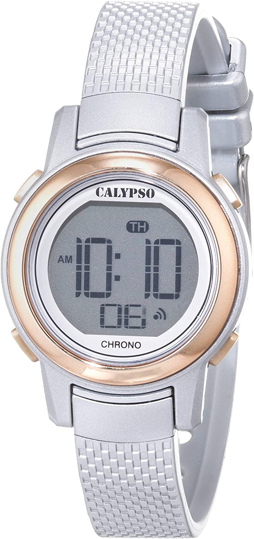 Calypso Reloj Digital para Mujer de Cuarzo con Correa en Plástico K5736/2