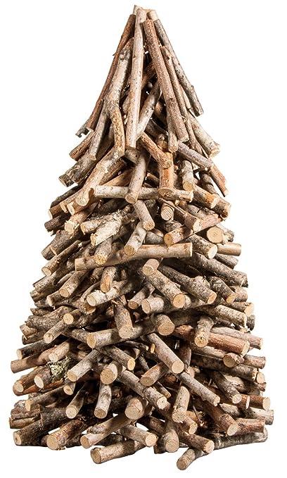 Alberi Di Natale In Legno Amazon.Rayher 65202000 Albero Di Legno Natale Naturale Amazon It