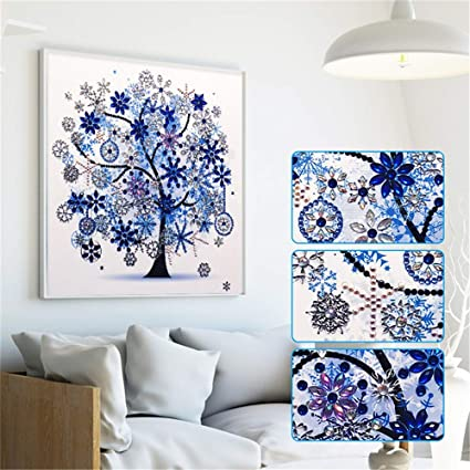 5d Diy Diamond Painting Sets Different Shape Diamond Drawing Tree Cross Stitch Point Drill Painting Living Room Bedroom Wall Decorative Drawing