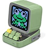 Divoom Ditoo Programmable Pixel Art LED Bluetooth Speaker Showing Clock Emoji DIY Design for Home Wedding Party Decoration wi