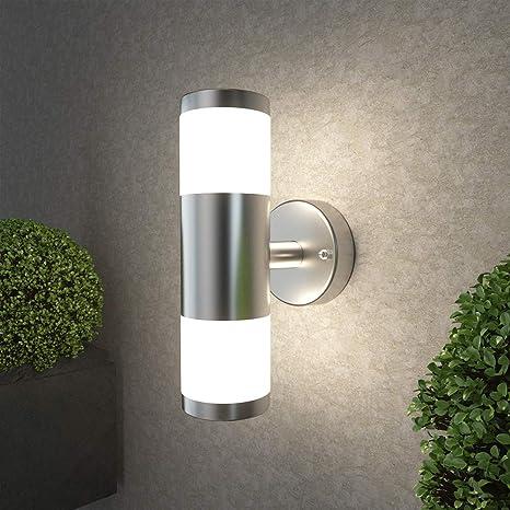 Amazon.com: Lámpara de pared para exteriores NBHANYUAN con ...