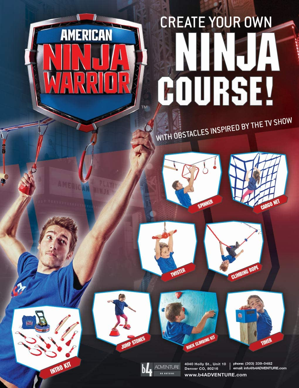 American Ninja Warrior Square Ninja Wheel