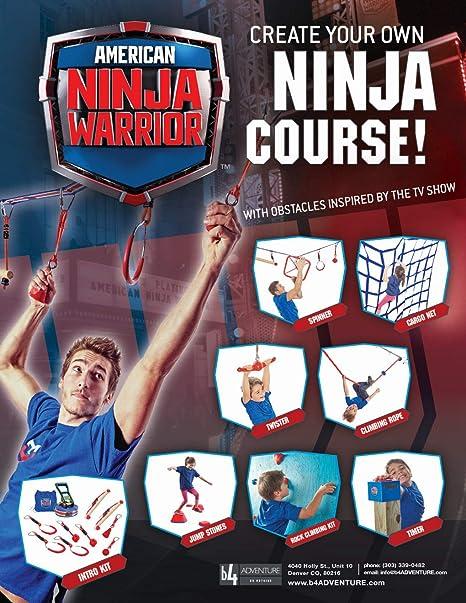 American Ninja Warrior 40 Deluxe ninjaline: Amazon.es ...