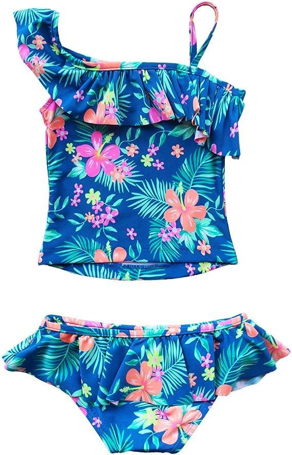 Firetrap Mädchen Bikini Set Kinder Zweiteilig Badeanzug Bademode Sommer Strand