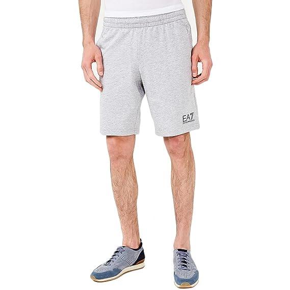 nueva llegada muchos estilos online para la venta Emporio Armani EA7 EA7 Bermuda Jogging Shorts Grey 3ZPS51 ...
