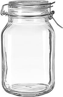 Bormioli Rocco Fido Clear Jar, 67.75 Oz.