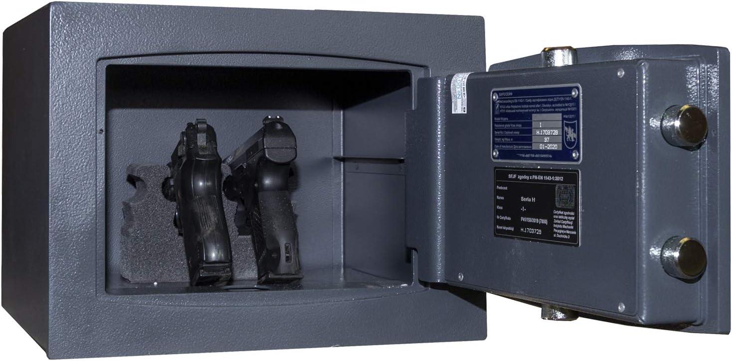 KWS 3 mit Schl/üsselschloss Kurzwaffenschrank EN 1143-1 Grad 1