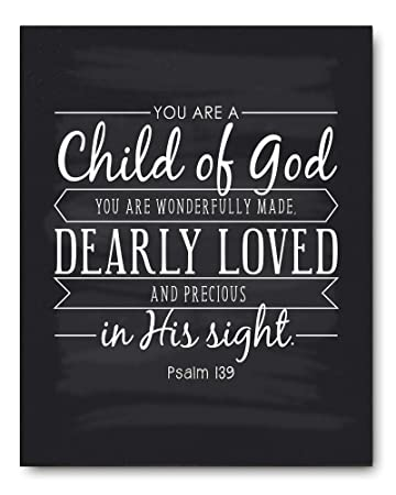 God Quote Stunning Amazon Child Of God Quote Sign Christening Gift Baptism Gift