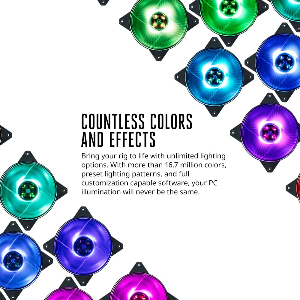 Buy Cooler Master Rgb Led Controller For Computer Case Fashion Lighting Circuit Schematic Circuits Fans With Software 4 Connecting Ports Multiple Light Modes Color Customization