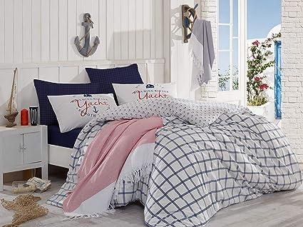 Amazon Com Bekata Bodrum Perfect Design Nautical Bedding Set 100