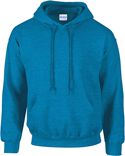 Sweat shirt epais avec capuche, Bleu, Medium